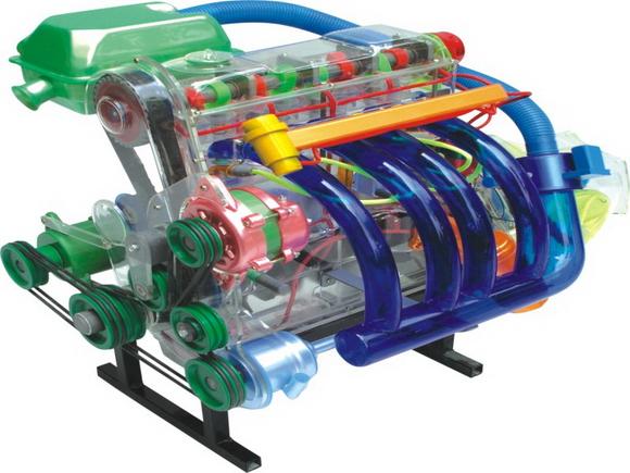 桑塔纳轿车各部件教学模型