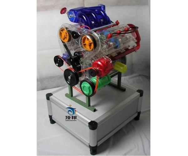 V6发动机模型