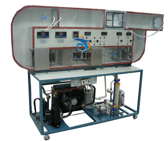 循环式空调过程实验装置